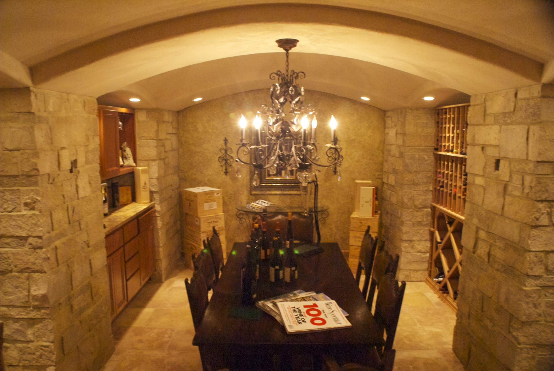 Eat In Wine Cellar & Wine Cellars | Evolutionary Home Builders