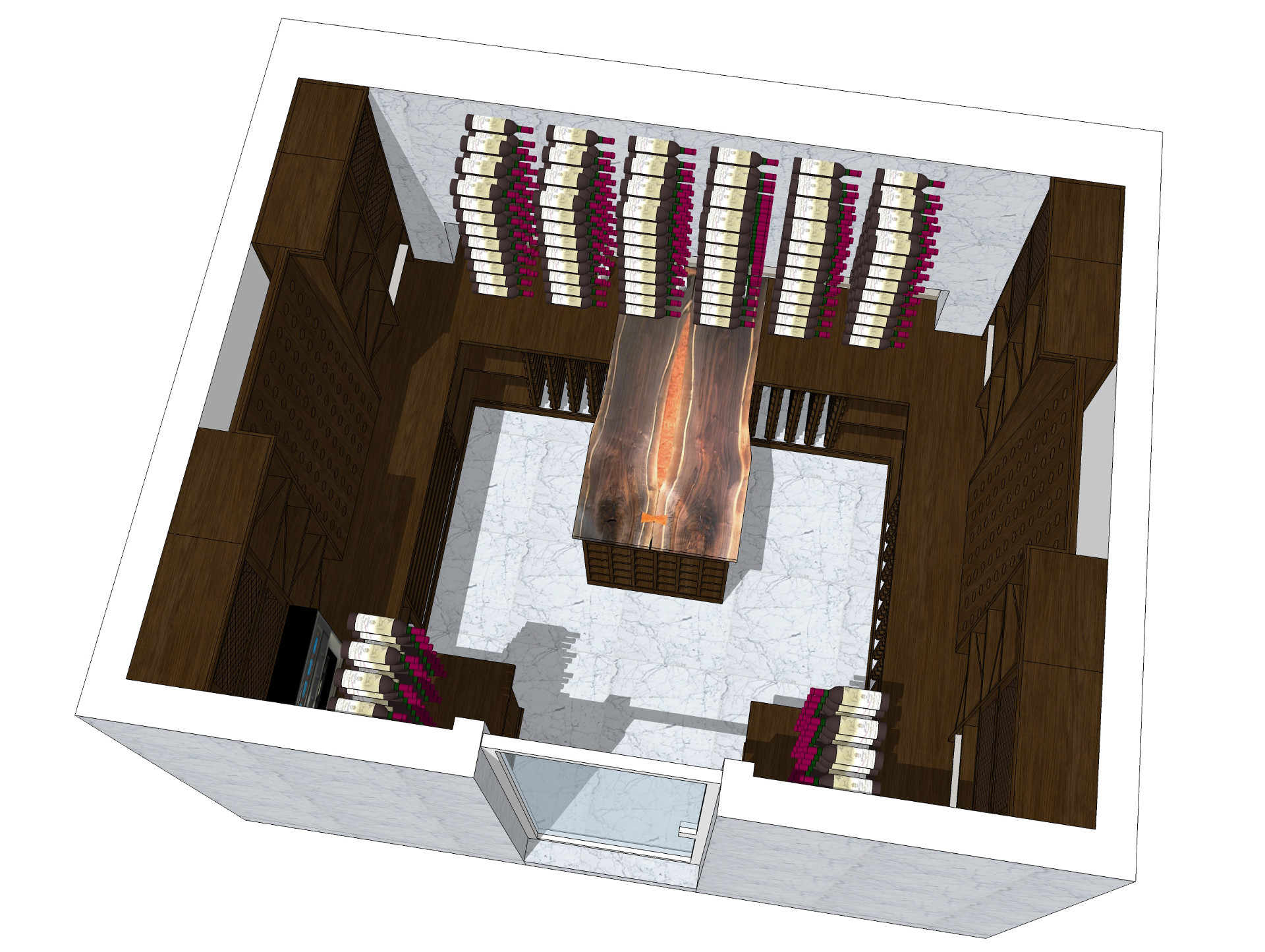 wine cellar revision 2d
