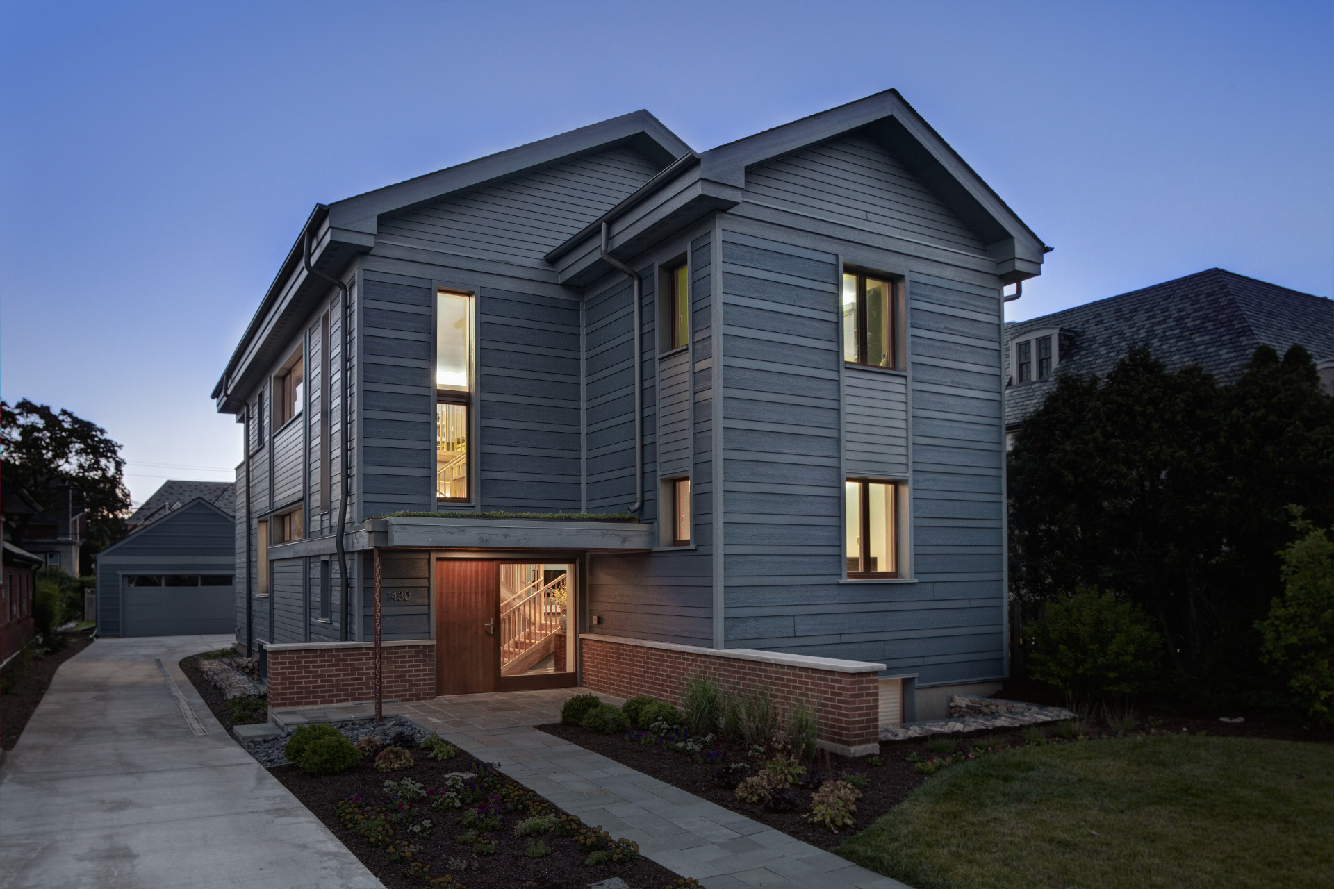 Chicagoland first certified passive house evolutionary for Housing builders